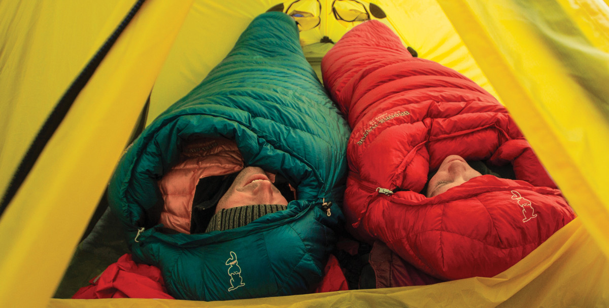 3. Right Sleeping bag
